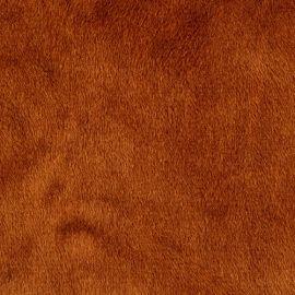 Мех М-1453 коротковорсовый 1.5мм, 50*50см +2см, 100% полиэстер, коричневый, 24898 Россия.