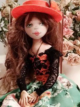 Авторская кукла Кити в Stranamasterov.by Беларусь.