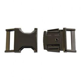 Фастекс металлический 25мм черный никель, k-059-25 Россия.