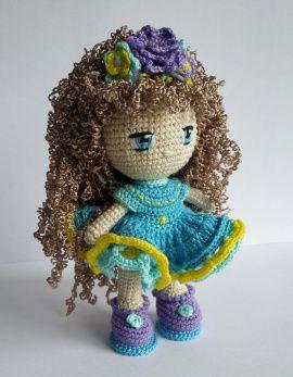 Вязаная куколка Сюзанна в Stranamasterov.by Беларусь.