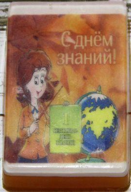 Сувенирное мыло 1 сентября в Stranamasterov.by Беларусь.