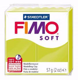 Полимерная глина FIMO SOFT Зелёный лайм 8020-52 57гр Россия.