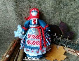 Народная кукла мотанка Берегиня(большая) в Stranamasterov.by Беларусь.