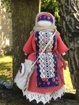 Народная кукла мотанка об Успешница, в делах помощ в Stranamasterov.by Беларусь.