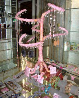 Подставка для серёжек Розовое дерево в Stranamasterov.by Беларусь.