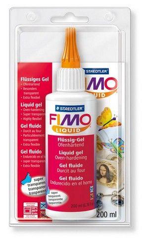 Жидкий гель FIMO Liquid 8051-00 BK (200 мл) Беларусь.