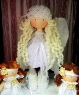 Кукла Рождественский ангел в Stranamasterov.by Беларусь.