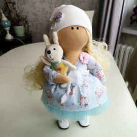 Интерьерная кукла Блонди в Stranamasterov.by Беларусь.