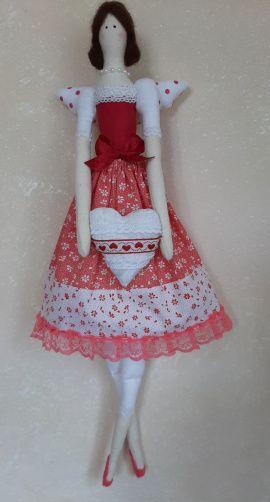 Интерьерная кукла Тильда-ангел в Stranamasterov.by Беларусь.