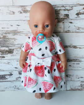 Платье и трусики Для куклы Baby Born 43 см в Stranamasterov.by Беларусь.