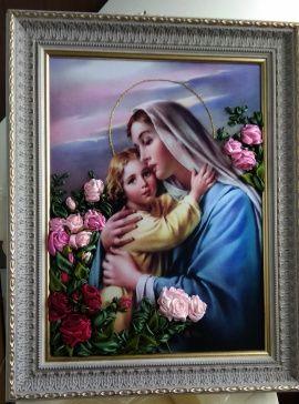 Картина Богородица в Stranamasterov.by Беларусь.