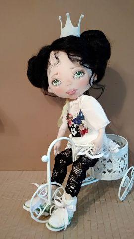 Авторская кукла Принцесса Стефания в Stranamasterov.by Беларусь.