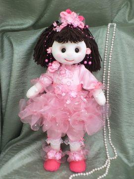 Текстильная кукла Маленькая принцесса в Stranamasterov.by Беларусь.