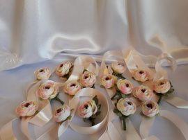 Свадебные Бутоньерки - подарок ручной работы на свадьбу Беларусь.