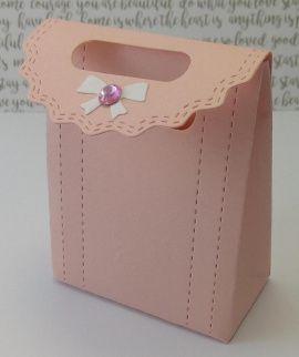 Бонбоньерка Пакетик с бантиком - подарок ручной работы на свадьбу Россия.