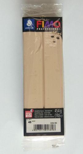 Запекаемая полимерная глина FIMO PROFESSIONAL DOLL ART Песочный 8071-45, 454гр Россия.