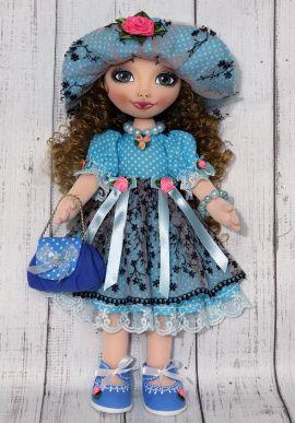 Текстильная кукла Мэри в Stranamasterov.by Беларусь.