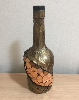 Бутылка Денежная 1 в Stranamasterov.by Беларусь.