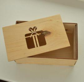 Подарочная коробка Фанерная 21*13*8 см в Stranamasterov.by Беларусь.
