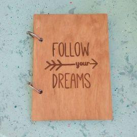Блокнот а6 Follow your dreams в Stranamasterov.by Россия.
