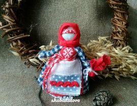Народная кукла мотанка Берегинька в Stranamasterov.by Беларусь.