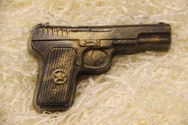 Мыло ручной работы Пистолет в Stranamasterov.by Беларусь.