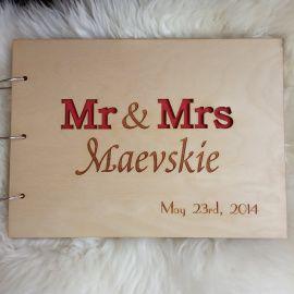 Свадебный фотоальбом Mr&Mrs в Stranamasterov.by Беларусь.