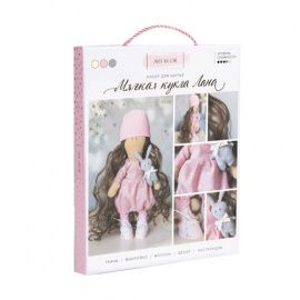 """Интерьерная кукла """"Лана"""", набор для шитья, 18*22.5*3см, 3548663 Россия."""