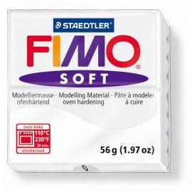 Запекаемая полимерная глина FIMO SOFT Белый 8020-0 (57гр) Беларусь.