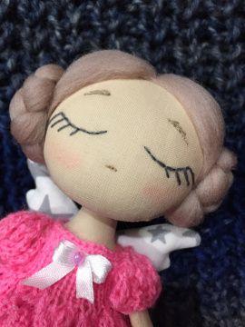 Текстильная кукла-ангел Юленька в Stranamasterov.by Беларусь.