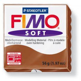 Запекаемая полимерная глина FIMO Soft Карамель 8020-7 (57гр) Беларусь.