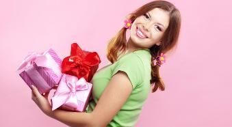 Подарок девушке на 20 лет