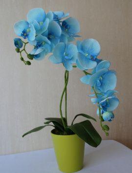Интерьерная композиция Голубая орхидея в Stranamasterov.by Беларусь.