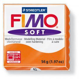 Полимерная глина FIMO SOFT Оранжевый 8020-42 57гр Россия.