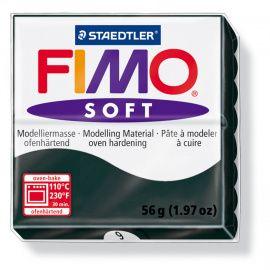 Запекаемая полимерная глина FIMO SOFT Чёрный 8020-9 (57гр) Беларусь.