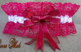 Подвязка невесты Марсал - подарок ручной работы на свадьбу Беларусь.