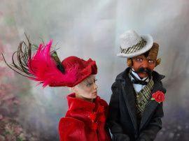 Кукла из полимерной глины Агриус Астрайон и Имодже в Stranamasterov.by Беларусь.