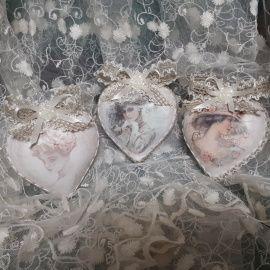Новогодние шары набор сер Ретро набор ёлочных шаро в Stranamasterov.by Беларусь.