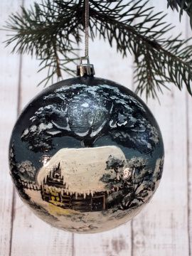 Новогоднее украшение «Елочный шар» в Stranamasterov.by Беларусь.