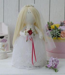 Интерьерная кукла Невеста в Stranamasterov.by Беларусь.