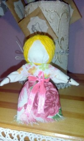 Кукла оберег для девочки На счастье в Stranamasterov.by Беларусь.