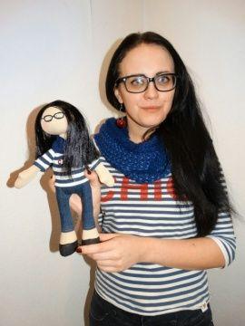 Портретная кукла Для Жени в Stranamasterov.by Беларусь.