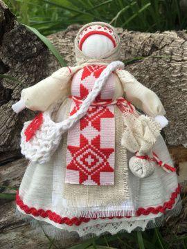 Кукла мотанка оберег Успешница помощница в Stranamasterov.by Беларусь.