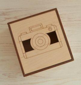 Коробка фанерная 12,5*12*5,5 см в Stranamasterov.by Беларусь.