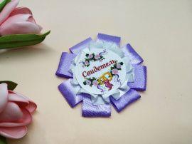 Бутоньерка Сирень - подарок ручной работы на свадьбу Беларусь.