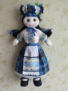Текстильная кукла Василинка в Stranamasterov.by Беларусь.