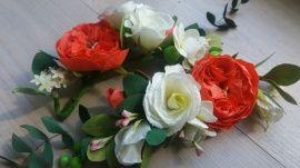 Свадебное украшение Ветка Эшли - подарок ручной работы на свадьбу Беларусь.