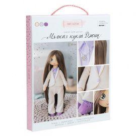 """Интерьерная кукла """"Джин"""", набор для шитья, 18*22.5*2.5см, 3548674 Беларусь."""