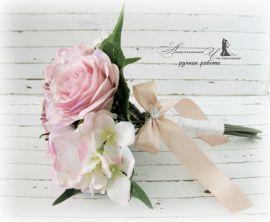 Букет-дублер Розы - подарок ручной работы на свадьбу Россия.