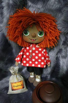 Интерьерная кукла-оберег Домовой Кузя в Stranamasterov.by Беларусь.